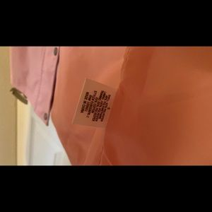 Miami Pink hooded rain coat